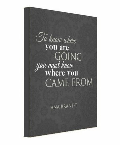 "One Motivated Mama Inspirational ""Where you are going"" Canvas by Ana Brandt.    www.shoptaopan.com  #inspiration #motivation #knowwhereyouaregoing #whereyoucamefrom #canvas #wallart #motivatedmama:"