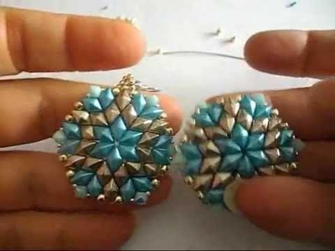 tutorial orecchini Star Diamond