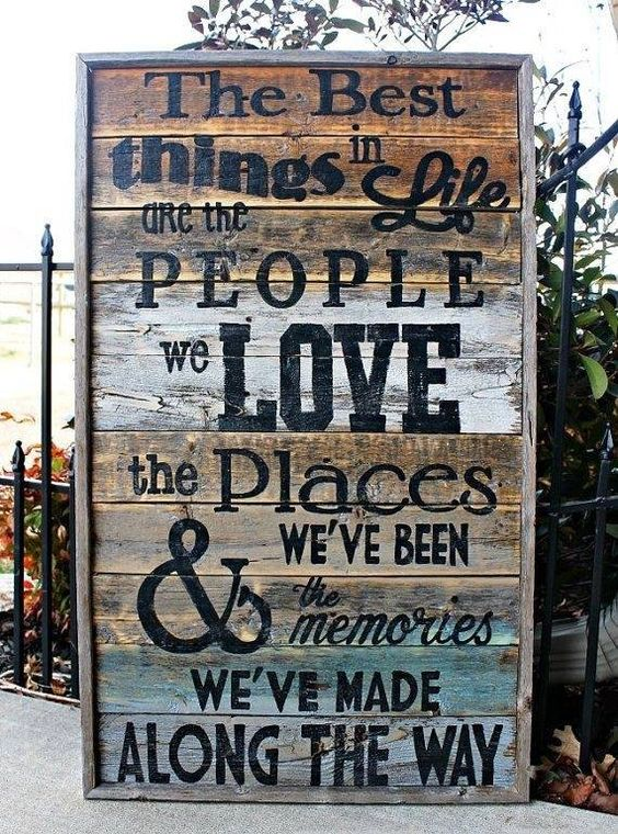"""Have got to make this ASAP!  """"The best things in life are the people we love the places we've been & the memories we've made along the way"""" ♥"""