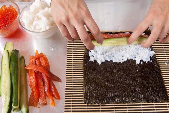 Sushi para principiantes: 3 recetas para hacer en casa - Revista OHLALÁ…