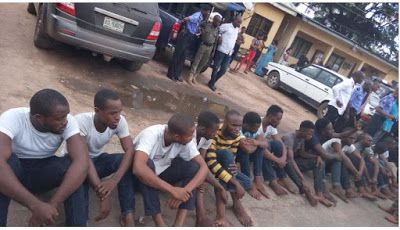 Welcome to Solenzo blog: NIGERIA: Police arrest 39 suspected cultists in Im...