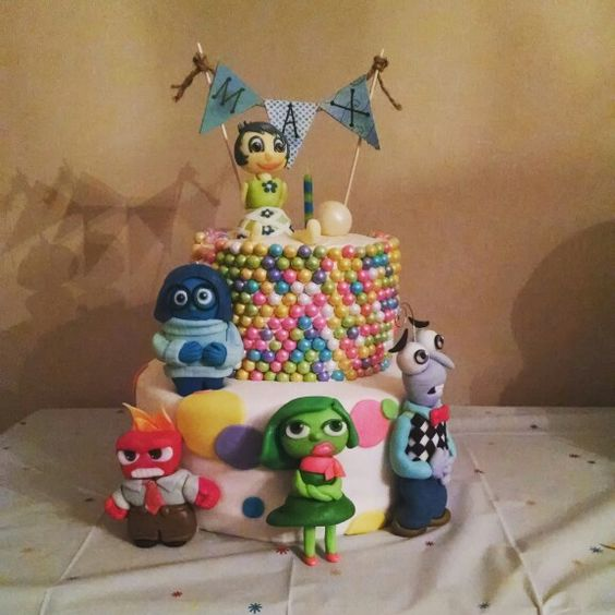 Inside Out birthday cake  Birthday cakes for the boys  Pinterest ...