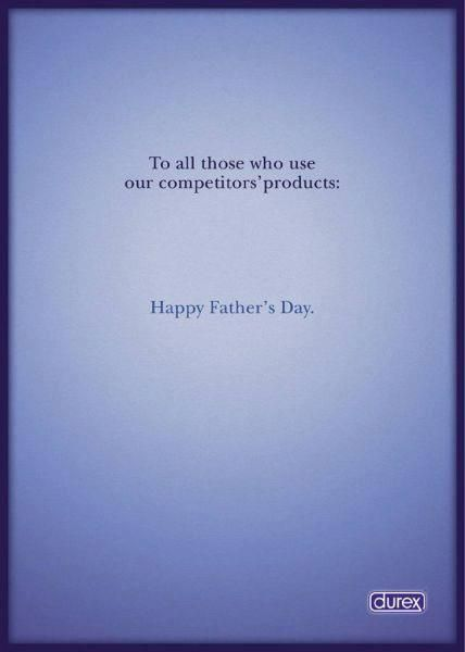 Durex Fathers Day AD