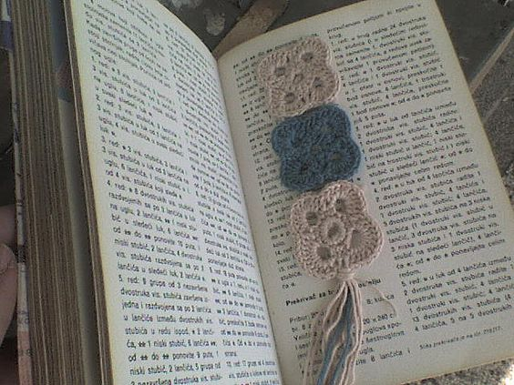 Granny Square Bookmark