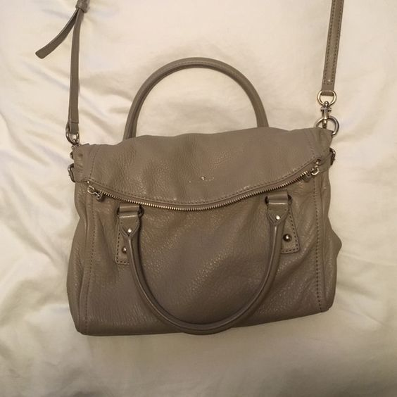 Kate Spade Handbag Darling Kate Spade Purse. Perfect everyday bag. Nice tan leather with shoulder strap kate spade Bags Crossbody Bags