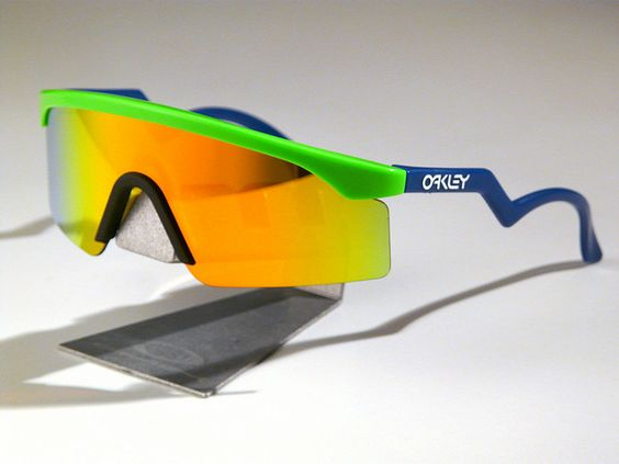oakley glass color  anyone who was someone had a pair of oakley blades back in the 80's. interchangeable