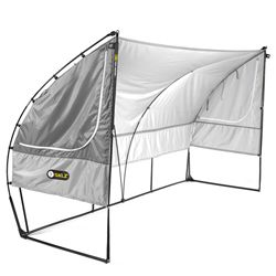While sitting in the rain during my sons weekend soccer game all I could think of was how handy this team shelter would've been. fourthquartersports.com - Sideline - Team Shelter, $139.99 (http://www.fourthquartersports.com/products/sideline-team-shelter.html)