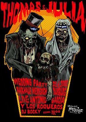 Zombie Wedding Invite