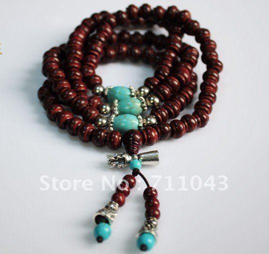 India sandalwood prayer beads 108*8mm India sandalwood bracelet beads