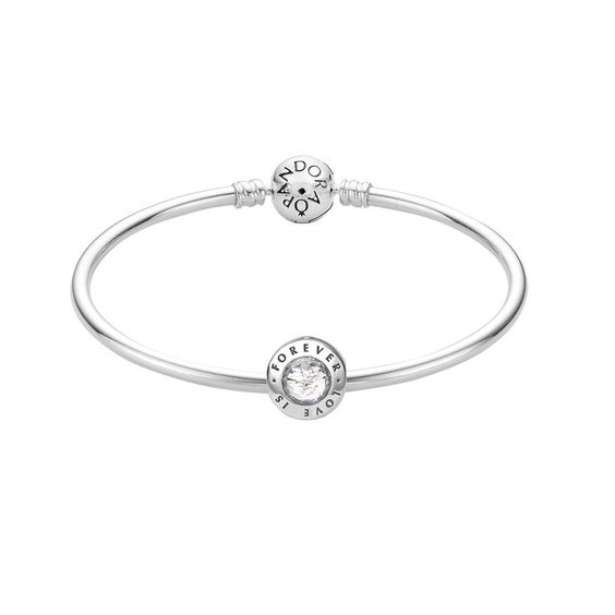 Love is Forever Bangle - Pandora UK | PANDORA eSTORE