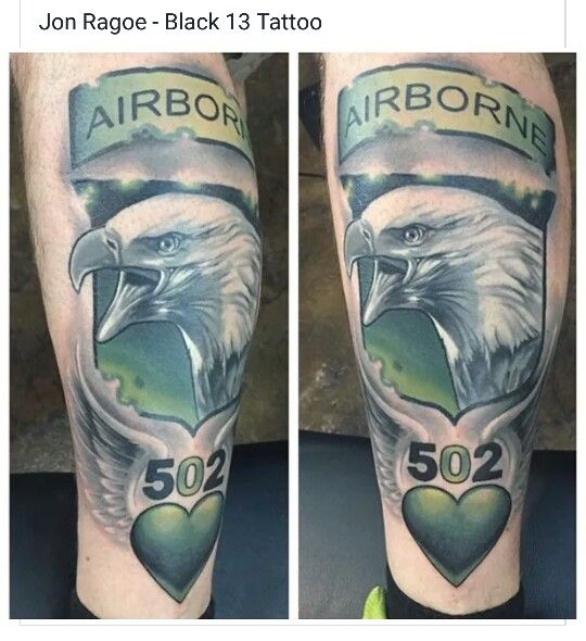 Top 101st screaming eagles tattoos images for pinterest for 101st airborne tattoos