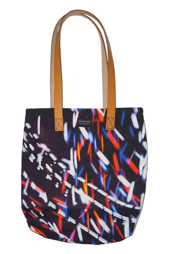 Quanta Tote Bag #Scottishdesign #print #leather #craftsmanship #totebag #travel #journeys