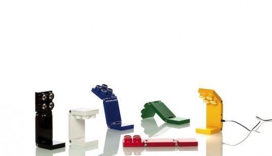 diseño verde, el diseño ecológico, diseño sustentable, Luxit, TOP CUATRO colección, LEGO, las lámparas LED