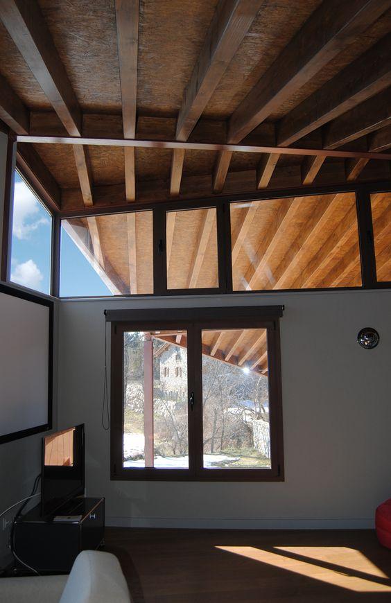 Casa Alfonso Santi Vives Arquitectura Estança Interior Vista del porxo