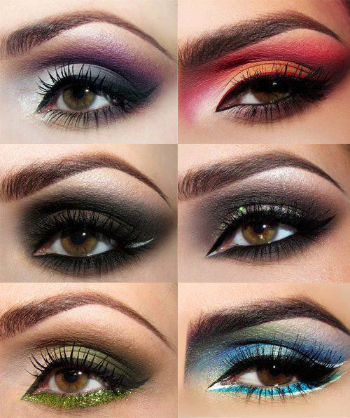 Hermosoooos maquillajes de ojos