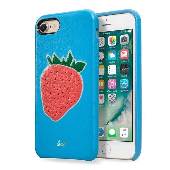 Coque Kitch Fraise Bleue pour iPhone 7