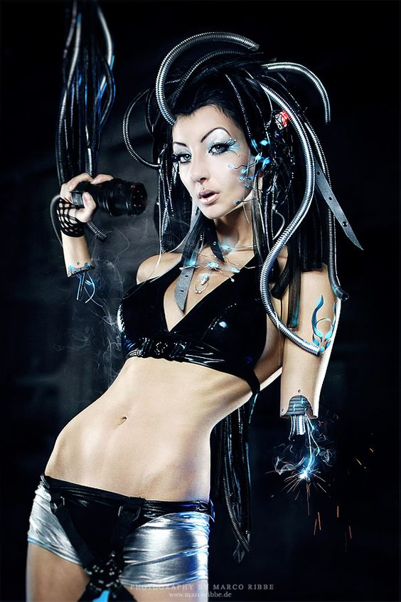 Android Cybergoth And Cyberpunk On Pinterest