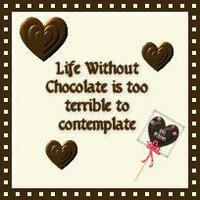 Life is No Fun without Chocolate. Call me to schedule your party.