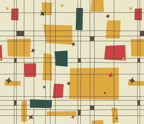 mid century modern textiles - Google Search