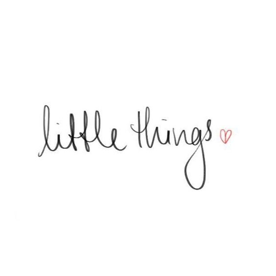 Little things makes life so much better - www.instawall.nl