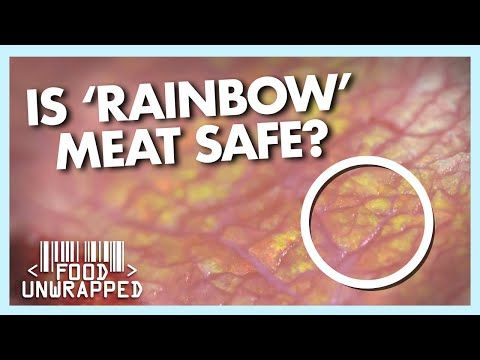 56 Why Does Meat Go Rainbow Coloured Food Unwrapped Youtube In 2020 Rainbow Colors Rainbow Food Coloring