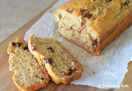 Banana and Chocolate Chip Loaf   Recipe   Chocolate chip ...