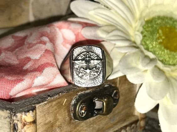 Antique Boy Scout Ring size 8