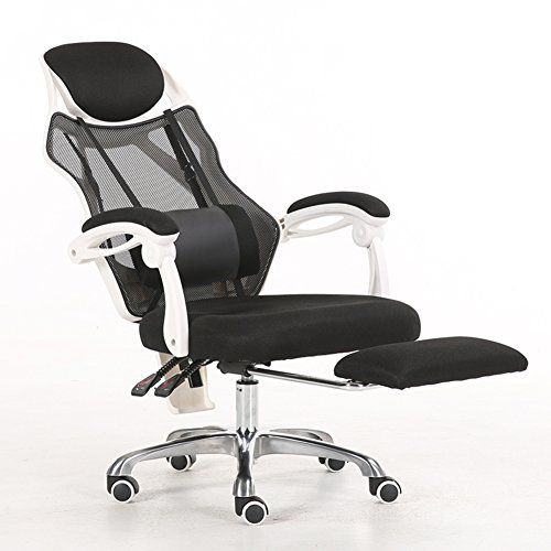 High Back Swivel Office Chair With Footrest Mesh Ergonomic Executive Task Chair Computer Chair Desk Chair M Swivel Office Chair Computer Chair Desk Chair