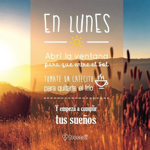 Lunes positivo :) | Frases | Pinterest