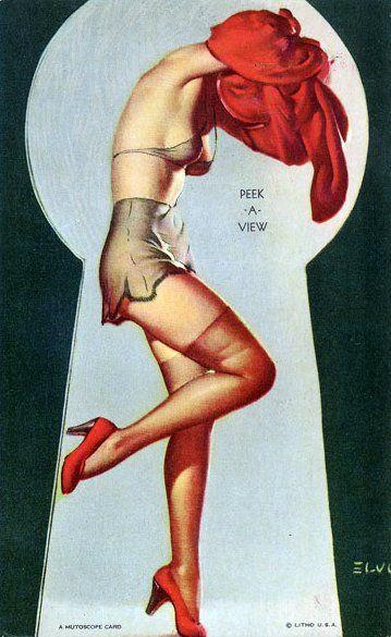 1940's by Gil Elvgren