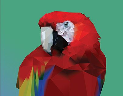 "Check out new work on my @Behance portfolio: ""MOZAIC ART PARROT""…"