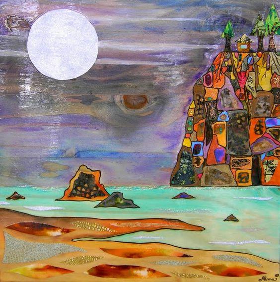 Ocean Telemadera Art Idea    www.almaart.com/...