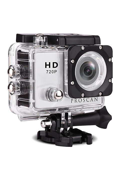 Sylvania Proscan Waterproof Action Camera With Mount With Images