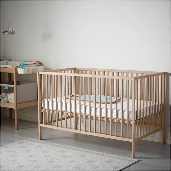 Natural Wood Baby Crib Ikea Sniglar Crib Ikea Baby Cribs