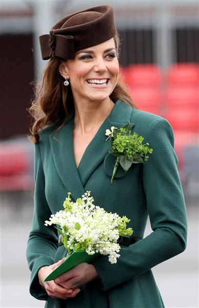 Kate's St. Pat's Day Outfit