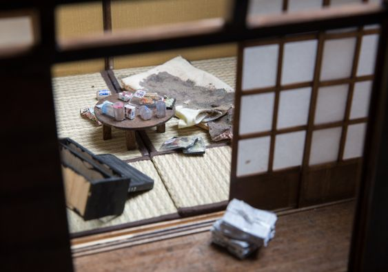 Miyu Kojima Creates Miniature Replicas of Lonely Deaths   Spoon & Tamago