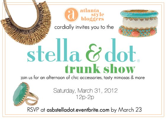 Stella dot mothers and sales representative on pinterest for Stella and dot invitation templates