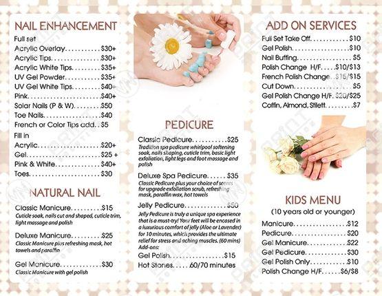 Nbr 14 Front Nails Salon Archives Vn Print Solution Nail Salon Design Salon Print Nail Salon