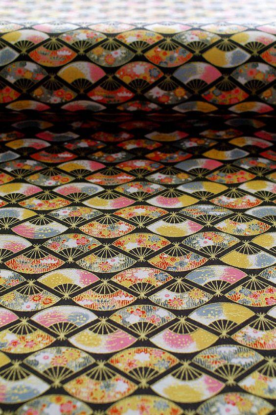 B4 size Japanese paper Washi Japanese folding fan by karaku: