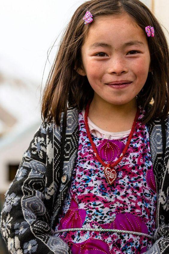 Asia: Hazara girl, Afghanistan:
