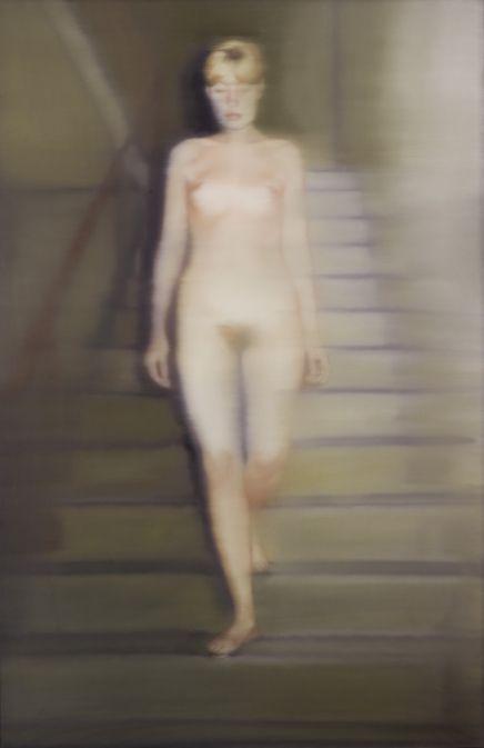 Ema (Akt auf einer Treppe) [134] » Kunst » Gerhard Richter