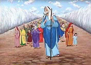 Clip Art Moses Leading the Israelites