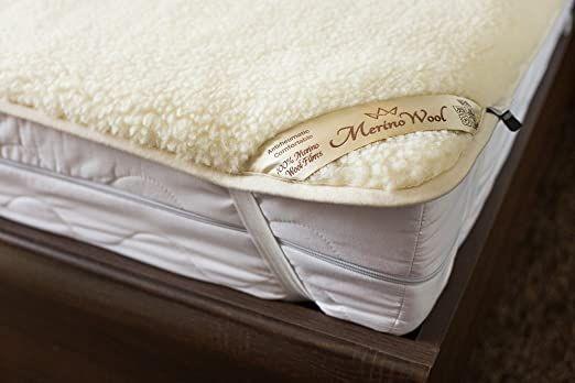 Sale Merino Wool Underblanket Wool Sheet Protector Mattress Topper Woolmark Under Blanket 200 X 200 Cm Wool Mattress Mattress Topper Bed Pads