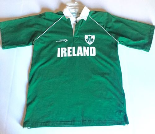 Nwt Lansdowne Irish Green Rugby Shirt Youth Size 11 12 Women S Small 100 Cotton Womens Shirts Rugby Shirt Ireland Rugby Shirt
