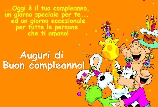 Frasi Compleanno Bambini Auguri Di Buon Compleanno Buon Compleanno Auguri Di Compleanno