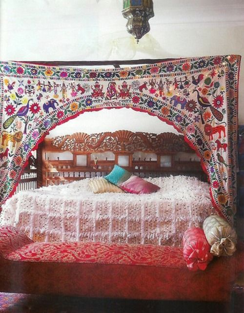 Love This Indian Wedding Doorway Canopy Mixed With Moroccan Blanket