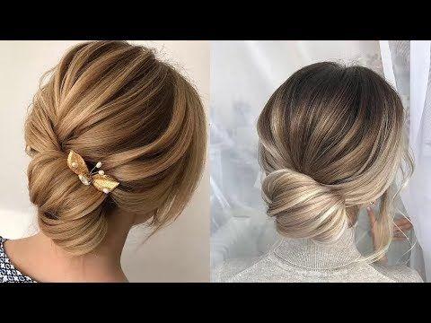 Wedding Hairstyles Tutorials Compilation Bridal Hair Tutorial Wedding Updo Hairstyles Tutor Youtub Langhaarfrisuren Frisur Hochgesteckt Hochsteckfrisur
