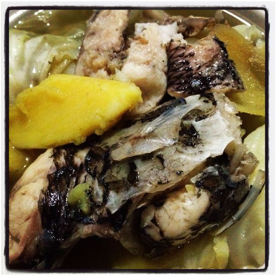 Local Fish viand