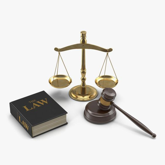 Legal Gavel Scales And Law Book 3D Model #AD ,#Scales#Gavel#Legal#Model