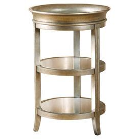 Mara Mirrored End Table